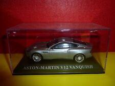 VOITURE SOUS BOITE PLEXI = ASTON MARTIN V12 VANQUISH