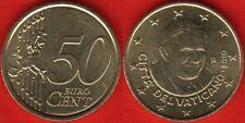 """Vatican 50 euro cents coin 2010 """"Benedictus XVI"""" UNC"""