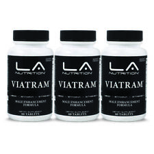 3-VIATRAM STRONG LEGAL TESTOSTERONE BOOSTER NO STEROIDS/HGH 180 DAY SUPPLY