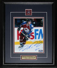 Peter Forsberg Colorado Avalanche signed 16x20 frame
