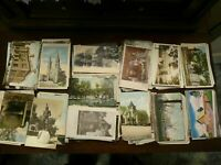 LOT OF 50 + VINTAGE POSTCARDS ~ PREMIUM LOT~USA & FOREIGN ~1900s TO 1960s FAST📫