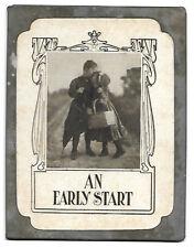Metal Edged, Comic Postcard, Circa 1904, Unused