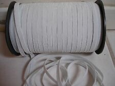 HUGE LOT OF**10*yards.WHITE**1/4 Inch in Width Small Elastic