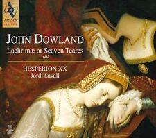 Dowland: Lachrim' or Seaven Teares, 1604 Super Audio Hybrid CD (CD, Jan-2014,...