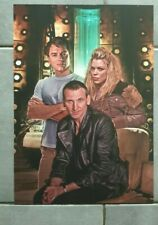 Doctor who A3 poster ninth dr in tardis