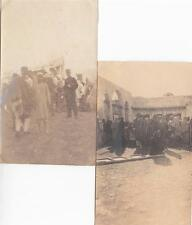 A7123) LIBIA, BENGASI, DICEMBRE 1911, LOTTO DI DUE FOTOGRAFIE.