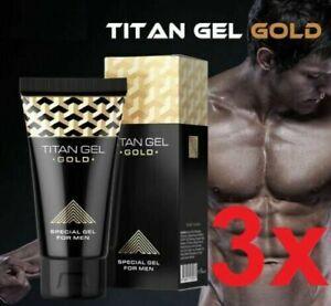 ⭐️⭐️⭐️⭐️⭐ Gel de Titane l'élargissement du pénis 3 x 50ml