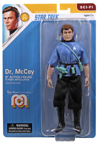Star Trek Dr Bones McCoy Mego 8 Inch Action Figure Wave 12 PRESALE