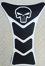 PUNISHER CARBON FIBER MOTORCYCLE CUSTOM TANK PROTECTOR PAD YAMAHA R1 R6