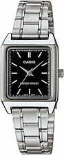 Casio Women's Analog Quartz Stainless Steel Watch LTPV007D-1E