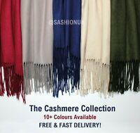 CASHMERE Feel Scarf Wrap Soft Cotton Scarf Cashmere Shawl 12 Colours