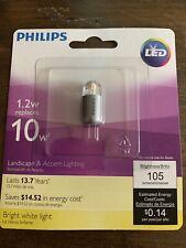 PHILIPS LED 1.2w  T3 CAPSULE BULB - 1.2W LED , G4 Pin Base.
