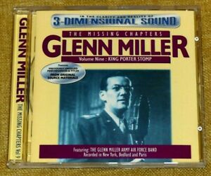 Glenn Miller - The Missing Chapters Vol 9 : King Porter Stomp - 1998 Avid CD