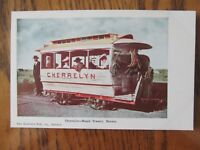 Vintage Postcard Cherrelyn Horse Trolley Rapid Transit Denver Colorado