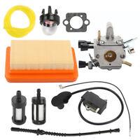 Carburetor Ignition Coil Air Filter For Stihl FS120 FS200 FS250 Trimmer CUTTER