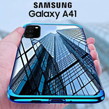 COVER per Samsung Galaxy A41 CUSTODIA ELECTRO + PELLICOLA VETRO TEMPERATO 9H