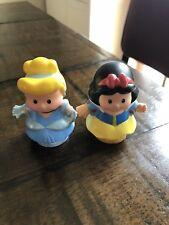 Fisher Price Little People Disney Princesses Cinderella & Snowhite