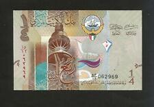 [NC] KUWAIT - CENTRAL BANK of KUWAIT - 1/4 DINAR (2014)