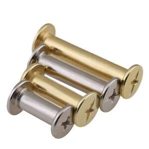 M5 Chicago Screws Length 6mm - 100mm Choose Nickel / Copper Coating Carbon Steel