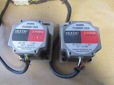 LOT OF 2  Vexta PK266M-02A Oriental Stepping Stepper Motor 2-Phase 0.9°/Step