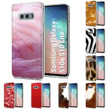 Thin Gel Design Protective Phone Case Cover for Samsung Galaxy S10e,Pink Print