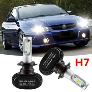 (H7 Low) LED Head Light Lamp Globes Bulbs Kit For Holden Commodore VF 2013~2018