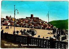 Cartolina Deliceto (Foggia) - Piazzale Belvedere Viaggiata