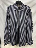 faconnable xxl Men Long Sleeve Shirt Button Down Black