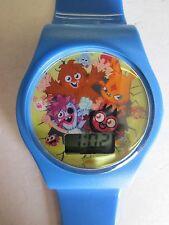Genuine Small/Kids/Childs/Boys Blue Moshi Monsters MM018 Digital Wrist Watch
