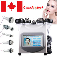 5 in1 Ultrasonic Cavitation Radio Frequency Slimming Machine Vacuum Canada Stock