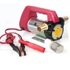 12V Diesel Cast Fuel Oil Transfer Pump 175W 11GPM Direct Biodiesel Kerosene Pump
