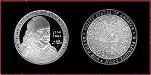 1706-2006 Benjamin Franklin Tercentenary (Uncirculated CLAD Proof)