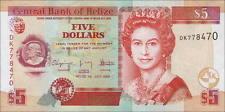 Belize 5 Dollars 2009 Pick 67d (1)