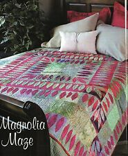 Magnolia Maze Quilt Pattern Pieced/Applique JR