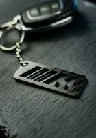 BMW M Emblem Key Chain Carbon Schlüsselanhänger Z118