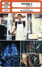 Movie Card. Fiche Cinéma. Psychose II (USA) Richard Franklin 1983