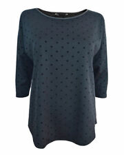 Polyester Polka Dot Batwing, Dolman Sleeve Casual Tops & Blouses for Women