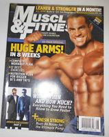 Muscle & Fitness Magazine Arnold Schwarzenegger NO ML August 2007 110414R