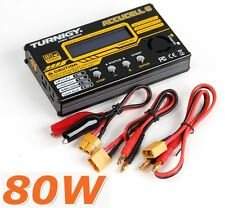 Turnigy Accucel 6 Accucell 80W 10A Balancer Charger Lipo LiFe NiMH LiHV Capable