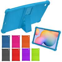 """Antiurto Silicone Custodia Cover Per Samsung Galaxy Tab S6 Lite 10.4"""" P610/P615"""