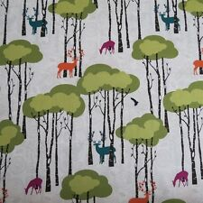 FQ Open Season Deer Trees Fabric by Michael Miller