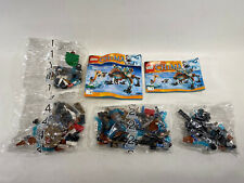 Lego Chima Sir Fangar's Saber Tooth Walker Set #70143  Sealed Bags 1 And 2