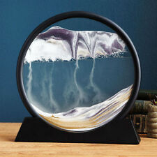 Deep Sea Sand ArtBring a Calming Presence2Your Office w this Desk Sculpture
