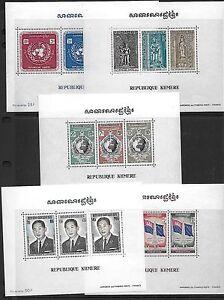 Cambodge Corée Bhutan Népal 1960-1980 Collection De Honduras Presque Toutes Mint