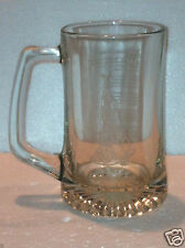 Fireman's Prayer Mug Stein Firefighter Etched 12oz (very nice and solid clear)