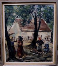 János Lajos Tihanyi 1892-1957, Im Baumschatten, datiert 1953