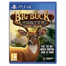 Big Buck Hunter Arcade pour PS4 (NEW & SEALED)