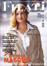Filati Handstrick Ausg. 31, 37 Modelle, Stricken, Herbst, Winter 07,Anleitungen