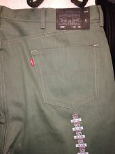 Levi's 501 Jeans Pants NWT 00501 1499 Teal Green Straight Fit Men's 48x30 Jeans