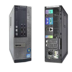 Dell Optiplex 990 SFF i7 2600 QUAD 3.4GHz 8GB 500GB HDD DVDRW Win 10 PRO
